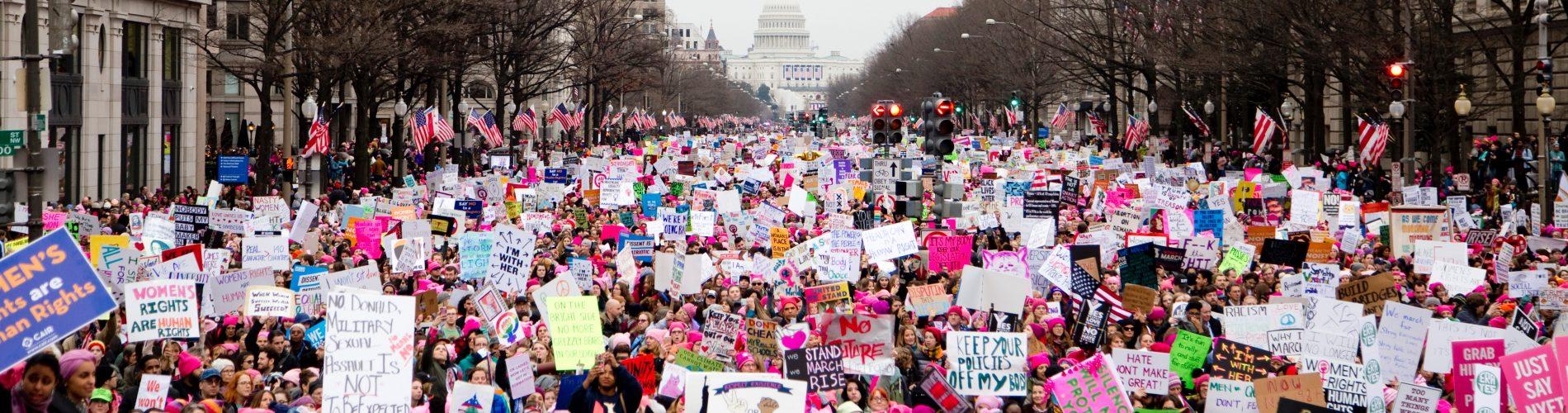 Women's March, global Feminism, Photo by Vlad Tchompalov on Unsplash