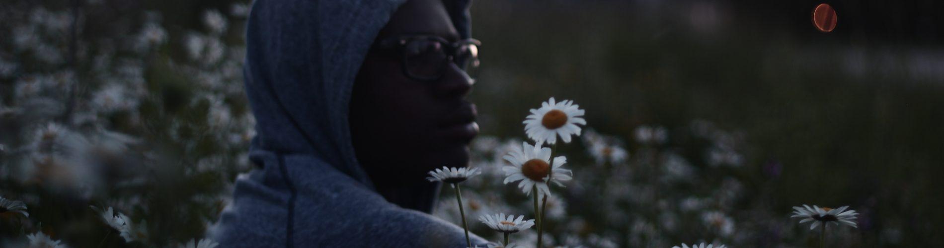 Caring Masculinity, Flower Man, wellington sanipe unsplash